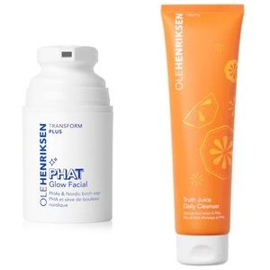 NEW Ole Henriksen Phat Glow Facial & Cleanser